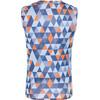 Castelli Pro Mesh Bielizna górna Mężczyźni pomarańczowy/niebieski